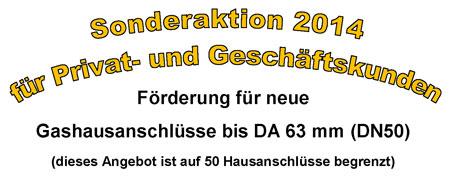 Aktion Gas 2014