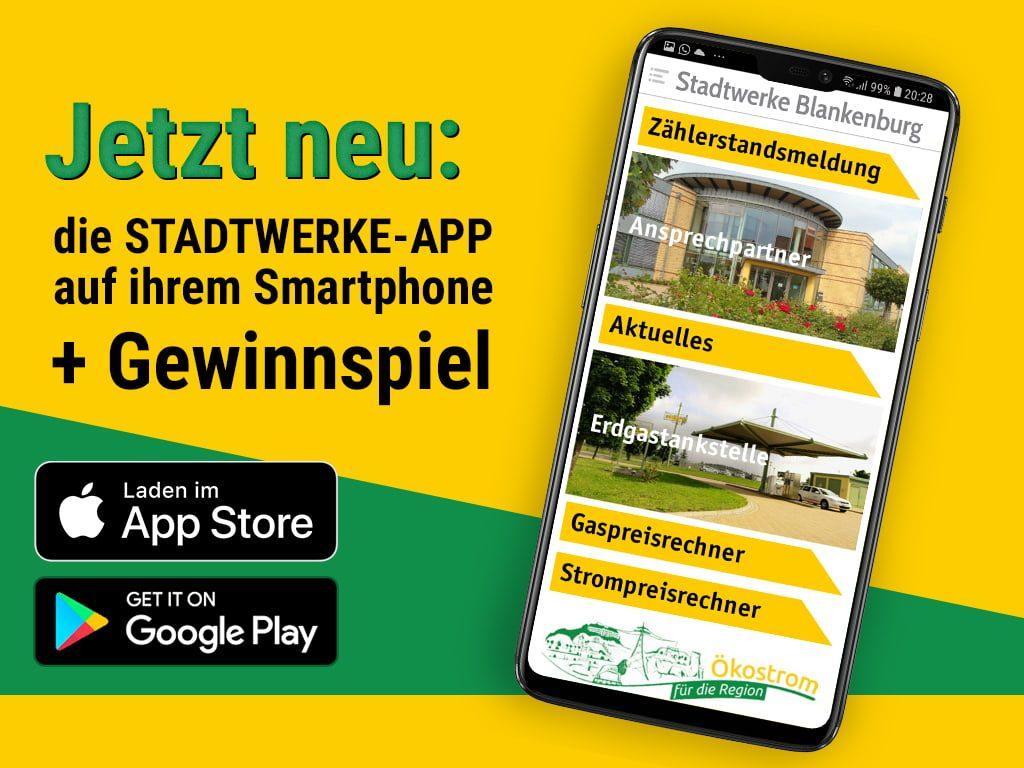 Stadtwerke Blankenburg als Android-App